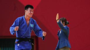"""Казахстанский дзюдоист выиграл """"золото"""" на этапе Гран-при в Узбекистане"""