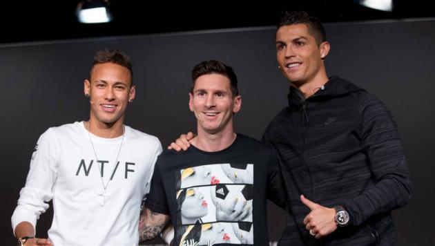 Обнародованы зарплаты самых высокооплачиваемых футболистов мира