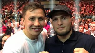 """""""Только не с """"Канело"""". Экс-боец UFC одобрил идею Головкина подраться с МакГрегором и Нурмагомедовым"""