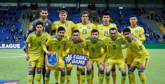 Сборная Казахстана объявила стартовый состав на матч Лиги наций с Латвией