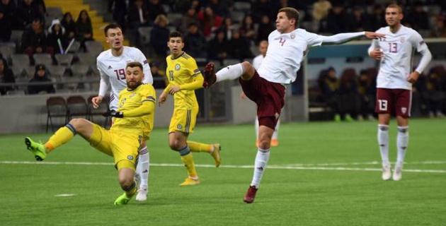 Видеообзор последнего домашнего матча сборной Казахстана в Лиге наций