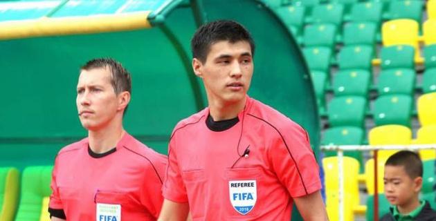 Судейская бригада из Казахстана назначена на матч Лиги наций