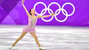 Казахстанская фигуристка Турсынбаева вошла в шестерку на этапе Гран-при в Москве