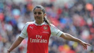 "Футболистка ""Арсенала"" за две секунды прокинула мяч между ног двум соперницам"