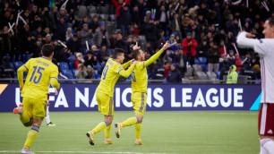 Букмекеры сделали прогноз на заключительный матч сборной Казахстана в Лиге наций с лидером группы