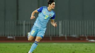 20-летний форвард сборной Казахстана продлил контракт с клубом после гола в Лиге наций