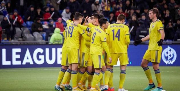 Сборная Казахстана оказалась в пятой корзине при жеребьевке отбора на Евро-2020