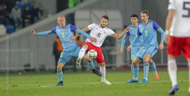 Сборная Казахстана по футболу вошла в ТОП-5 самых бьющих команд Лиги наций