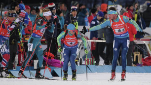 Вишневская и еще восемь биатлонистов из Казахстана отстранены из-за подозрений в употреблении допинга