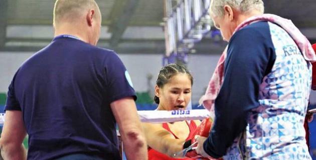 Казахстанская боксерша вышла в финал чемпионата мира по боксу