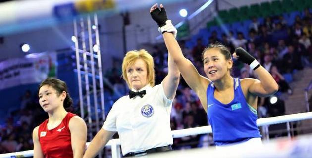Казахстан завоевал вторую медаль на женском чемпионате мира по боксу