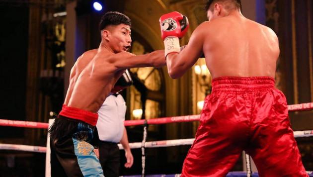 Призер молодежного ЧМ из Казахстана выиграл бой нокаутом в одном вечере с Елеусиновым