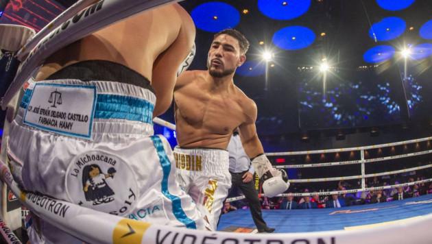 Видео нокаута, или как чемпион мира среди молодежи из Казахстана одержал пятую победу в профи