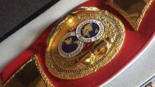 Решивший продать чемпионский пояс IBF ради подарку сыну боксер передумал