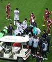 Корейский футболист сделал сальто через соперника и сломал шею