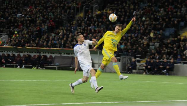 """""""Астана"""" потерпела первое поражение и упустила лидерство в группе Лиги Европы"""