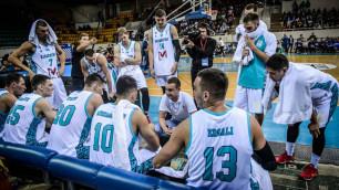Сборная Казахстана по баскетболу одержала победу в матче отбора на чемпионат мира