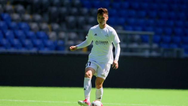 Капитан юношеской сборной Казахстана по футболу перешел в испанский клуб
