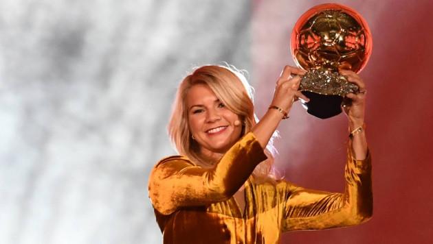 """Автор двух покеров в ворота казахстанского клуба получила первый в истории женский """"Золотой мяч"""""""