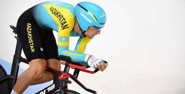 Казахстанец Захаров стал пятым на этапе Кубка мира по велотреку