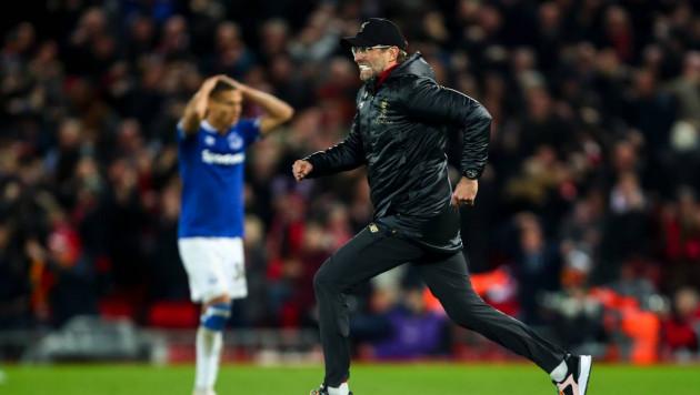 Юрген Клопп оштрафован за празднование победного гола на поле во время дерби