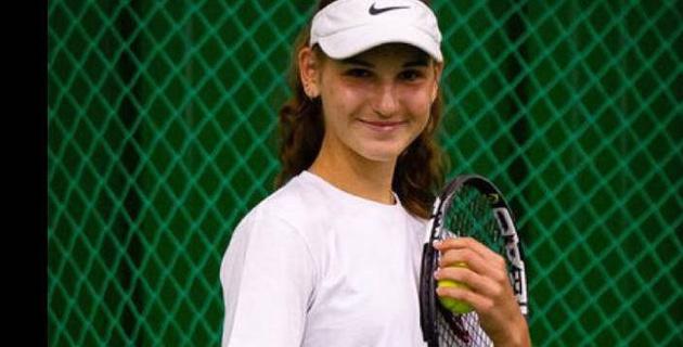 Казахстанская теннисистка вышла в полуфинал престижного юниорского турнира в США