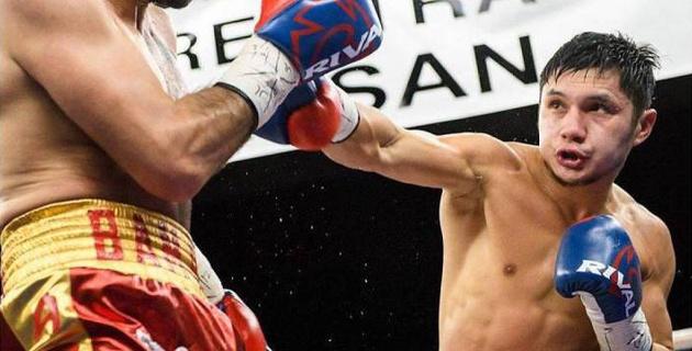 Казахстанский боксер выиграл нокаутом первый бой после ухода от промоутеров из Канады