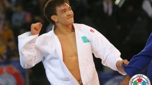 """Казахстанские дзюдоисты выиграли две медали на """"Мастерсе"""" в Китае"""