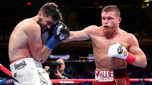 """""""Канело"""" объяснил четыре нокдауна и быстрый нокаут в бою с чемпионом WBA"""