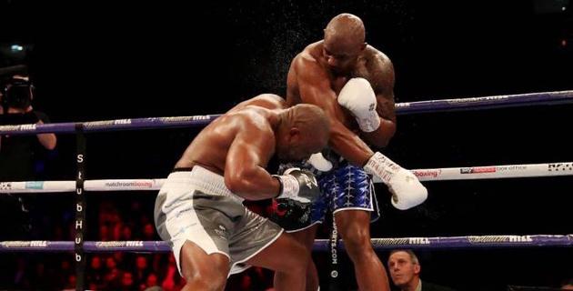 Реванш между бывшими соперниками Кличко и Джошуа закончился мощным нокаутом