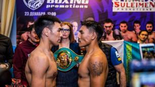 Прямая трансляция титульных боев казахстанских боксеров Жанабаева и Ербосынулы