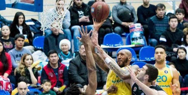"""Баскетболисты """"Астаны"""" одержали четвертую подряд победу в Единой лиге ВТБ"""
