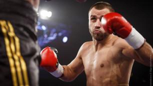 Несостоявшийся соперник Сондерса побывал в нокдауне и завершил вничью бой с боксером из Узбекистана