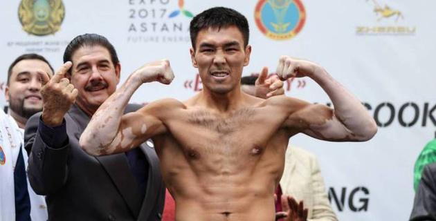 Казахстанский боксер победил спарринг-партнера Мэнни Пакьяо и завоевал пояс от WBC