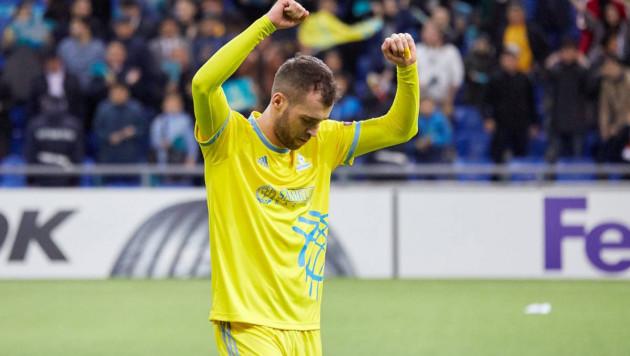 """""""Астана"""" назвала лучшего игрока сезона в еврокубках"""