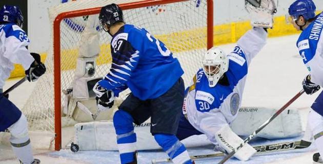 51 сейв вратаря не спас Казахстан от разгромного поражения в первом матче МЧМ-2019 по хоккею