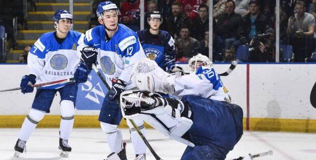Видеообзор матча МЧМ-2019 по хоккею с Финляндией, в котором вратарь сборной Казахстана стал героем