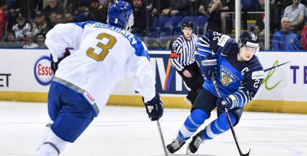 Капитан сборной Финляндии восхитился игрой казахстанского вратаря в матче МЧМ-2019 по хоккею