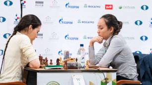 Жансая Абдумалик заняла шестое место на чемпионате мира по быстрым шахматам