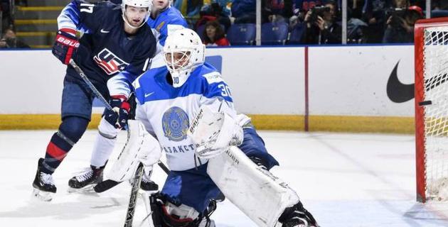 Прямая трансляция матча Казахстан - Словакия на молодежном чемпионате мира по хоккею