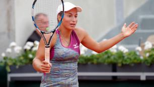 Путинцева выиграла первый сет у восьмой ракетки мира, но проиграла матч на турнире в Брисбене