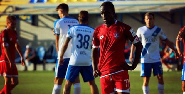 С бывшим ивуарийским форвардом казахстанского клуба не стали продлевать контракт