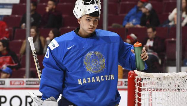 КХЛ назвала вратаря молодежной сборной Казахстана будущей звездой лиги