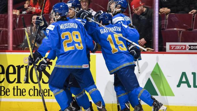 Видео матча, или как сборная Казахстана разгромила Данию в решающей игре МЧМ-2019 по хоккею
