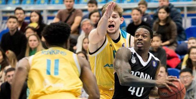 """Баскетболисты """"Астаны"""" начали год с поражения и прервали победную серию в Единой лиге ВТБ"""