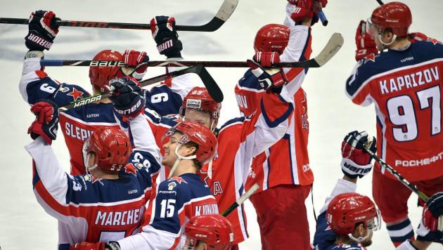 Определился первый участник плей-офф КХЛ