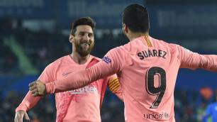 Месси и Суарес за 18 туров забили больше, чем 16 клубов Ла Лиги