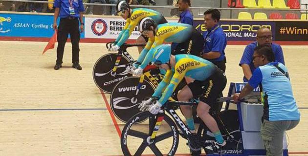 Казахстан впервые в истории будет представлен во всех дисциплинах на ЧА по велоспорту на треке