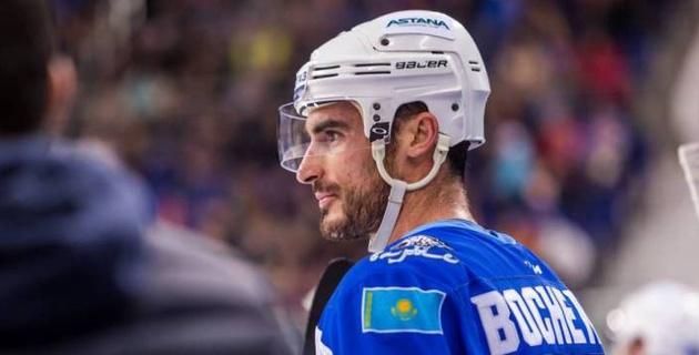 """Капитан """"Барыса"""" Боченски впервые забил после двухмесячной паузы из-за травмы"""