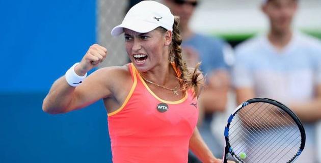 Путинцева всухую выиграла решающий сет у пятой ракетки мира и вышла в четвертьфинал турнира в Сиднее